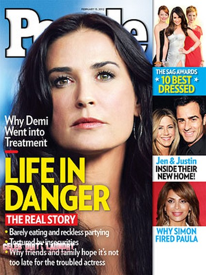 Demi Moore's Desperation to 'Stay Young and Skinny' Put Her Life In Danger (Photo)