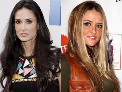 Are Demi Moore And Brooke Mueller Rehab Buddies?