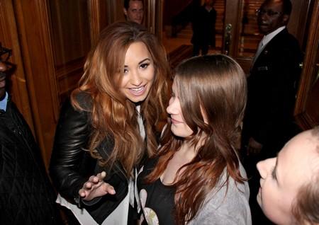 Demi Lovato Partying Hard Again