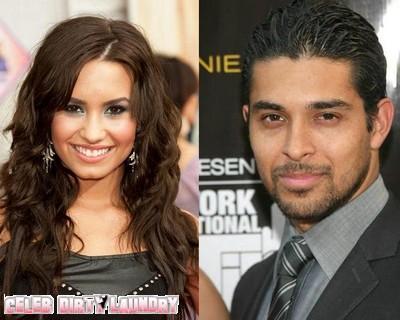 Dating Again: Demi Lovato Crushing On Wilmer Valderrama At 'Family Guy' Party