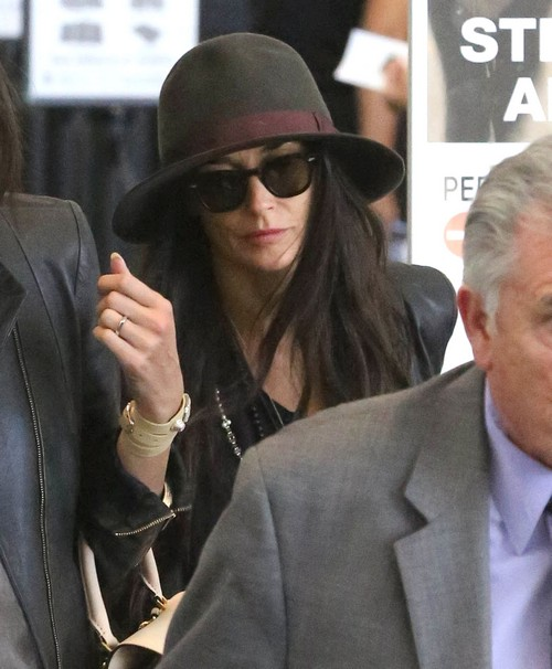 Demi Moore's Meltdown at Dinner Party in LA - Back On Drugs