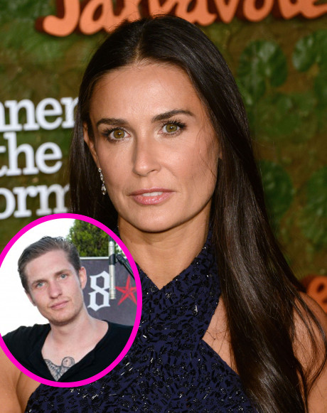 Demi Moore Spotted Fondling New Boy Toy Sean Friday in Mexico!