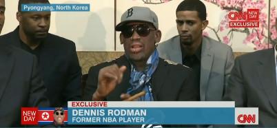 Dennis Rodman Paid Stooge for Brutal Dictator Kim Jong-un - Disgusting! (VIDEO)