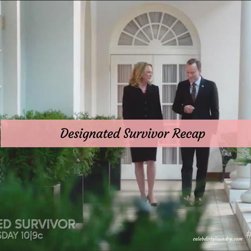 news designated survivor lazarus recap