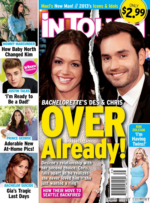 Desiree Hartsock and Chris Siegfried Break Up: Enagement Over as Desiree Admits She Still Loves Brooks Forester (Photos)