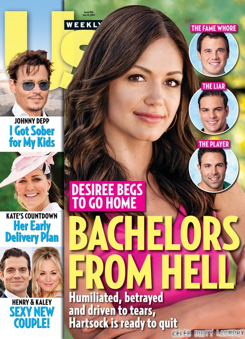 The Bachelorette's Desiree Hartsock - Humiliated, Betrayed, And Quitting (PHOTO)