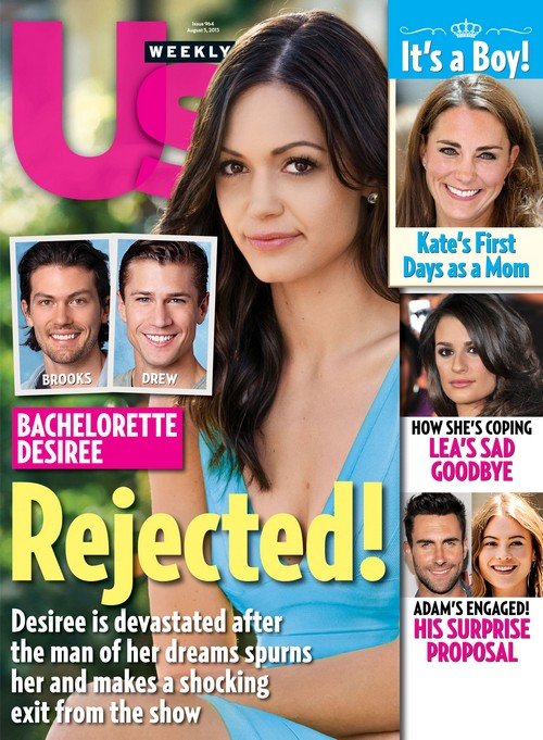 Bachelorette Desiree Hartsock Rejected By The Man She Loves - He Storms Off Show!