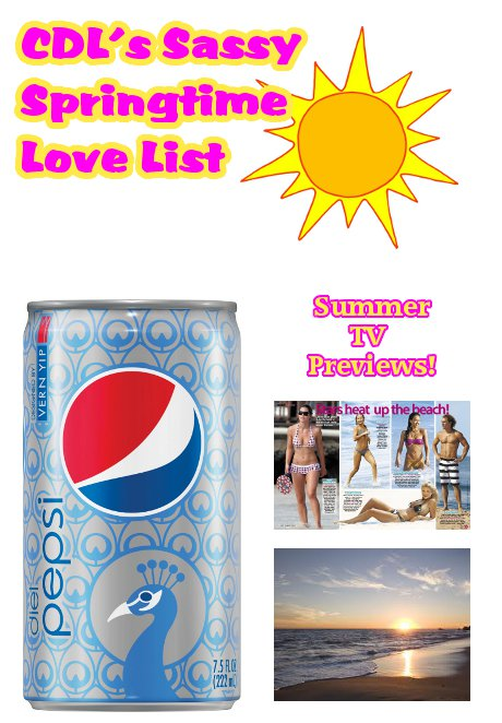 Diet Pepsi Sassy Spring Love List -- Inspired by New Can Design by Vern Yip!