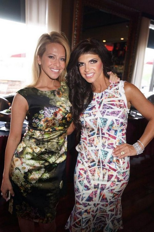 Dina Manzo Stabs Teresa Giudice In The Back: Rivals For Control of The Real Housewives of New Jersey