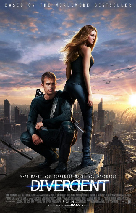 Divergent Trailer Abounds with Hunger Games-like Energy -- How Does Tris Compare to Katniss Everdeen? (POLL) (VIDEO)