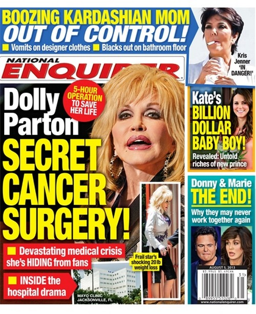 Dolly Parton's Cancer Terror: Singer Takes Radical Steps to Prevent Throat Cancer (PHOTO)