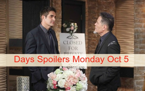 Days of Our Lives (DOOL) Spoilers: Steve Panics Over Bo - Caroline Drug Emergency - Andre and Stefano Solve Chad's Problem