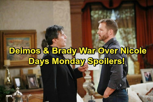 Days of Our Lives Spoilers: Gabi Spots JJ and Lani Kiss – Deimos and Brady Go to War Over Nicole – Jennifer Locks Lips with Eric