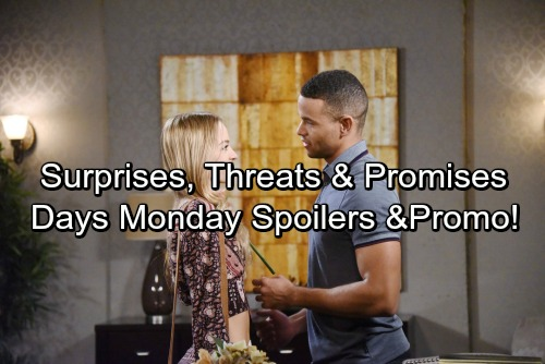 Days of Our Lives Spoilers: Monday, June 26 - Tripp Drops First Revenge Bomb – Theo Gives Claire Huge News