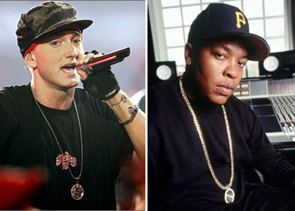 Dr. Dre And Eminem Set To Bust Out Together At Grammys