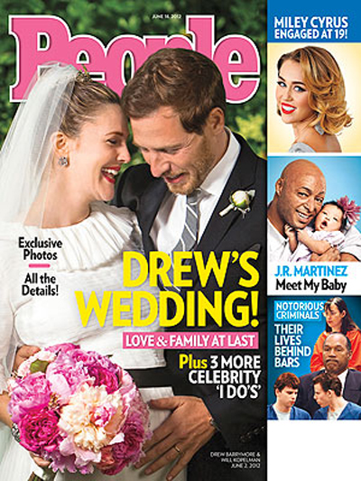 See Drew Barrymore And Husband Will Kopelman's Official Wedding Album (Photo)