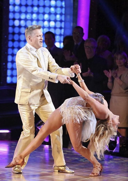 Drew Carey Dancing With the Stars Quickstep Video 4/14/14 #DWTS