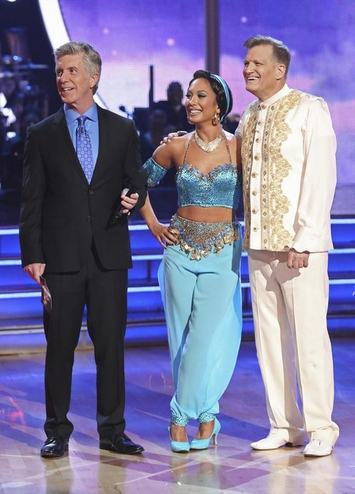 Drew Carey Dancing With the Stars Tango Video 4/21/14 #DWTS