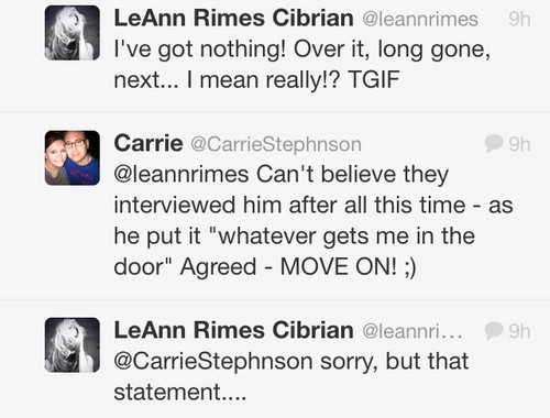 LeAnn Rimes Attacks Ex-Husband Dean Sheremet For HER Cheating - Throws In Another Barb at Brandi Glanville