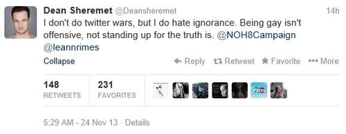 LeAnn Rimes and Ex-Husband Dean Sheremet's Gay Insult Twitter War Erupts
