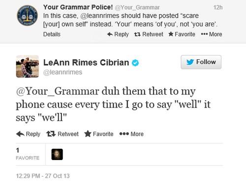 LeAnn Rimes Drinking and Tweeting Again