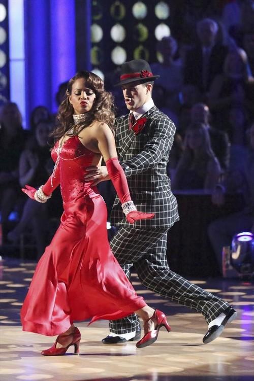 Christina Milian Dancing With the Stars Cha Cha Cha Video 10/14/13