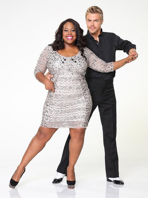 Amber Riley Dancing With the Stars Cha Cha Cha Video 9/16/13