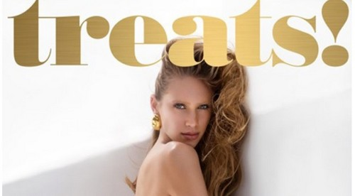 Dylan Penn Ruining Kristen Stewart and Robert Pattinson's Birthday Date - Poses Topless For Treat! Magazine