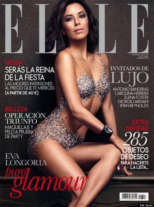 Eva Longoria's Nearly Nude ELLE Spain Photoshoot: Can We Get  Do-Over? (PHOTOS)