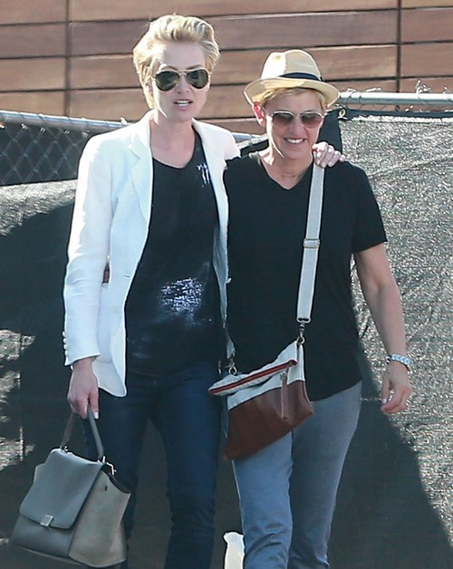 Ellen DeGeneres and Portia de Rossi Divorce Update: Having Baby and Quit Drinking To Save Marriage - See Shopping Photos