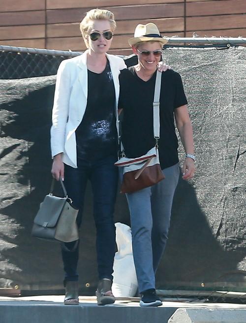 Ellen DeGeneres Divorce News: Portia de Rossi Fight Cancels Charity Appearance - Couple Deny Marriage Trouble Rumors
