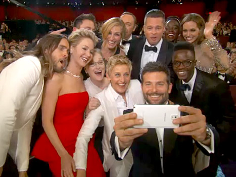 Ellen DeGeneres' Oscar Selfie Was Planned As PAID Samsung Product Placement
