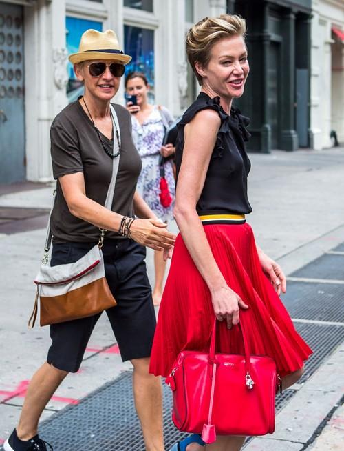 Portia de Rossi and Ellen DeGeneres Divorce: Portia Jealous of Sofia Vergara and Ellen's Close Relationship? (PHOTOS)
