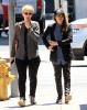 Ellen Page Meets A Friend for Lunch
