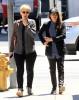 Ellen Page Meets A Friend for Lunch