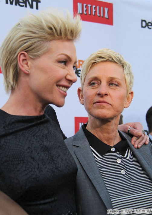 Ellen DeGeneres Major Plastic Surgery For Academy Awards - Or Is it For Portia de Rossi?