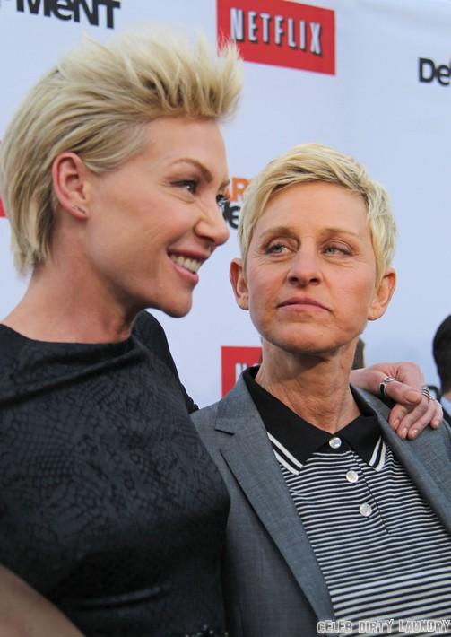 Ellen DeGeneres and Portia de Rossi Divorcing - Ellen Wants A Younger Hotter Woman?