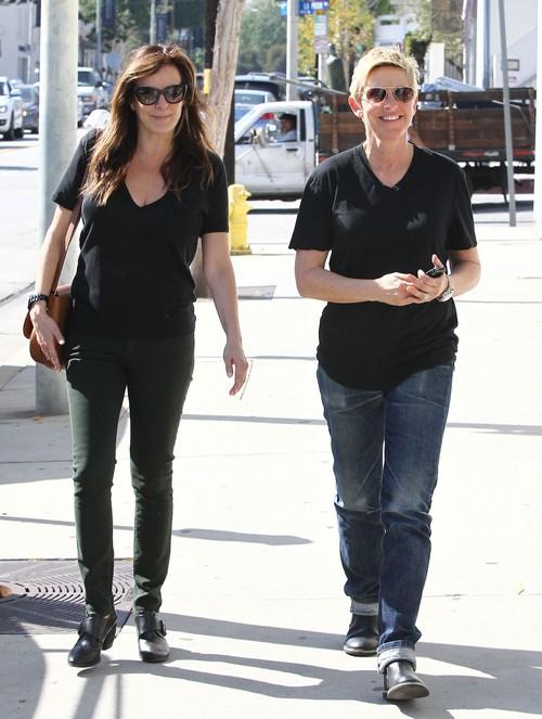 Ellen DeGeneres Caught With Mystery Brunette Date - Portia de Rossi Break-Up Rumors Gain Momentum (PHOTOS)