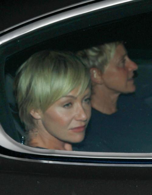 Ellen Degeneres and Portia de Rossi Separating: Ellen Forces Portia To Show Affection In Public, Marriage Crumbling?