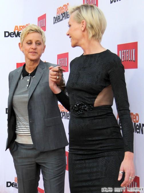 Ellen Degeneres And Portia De Rossi Split - Fighting Over Other Women