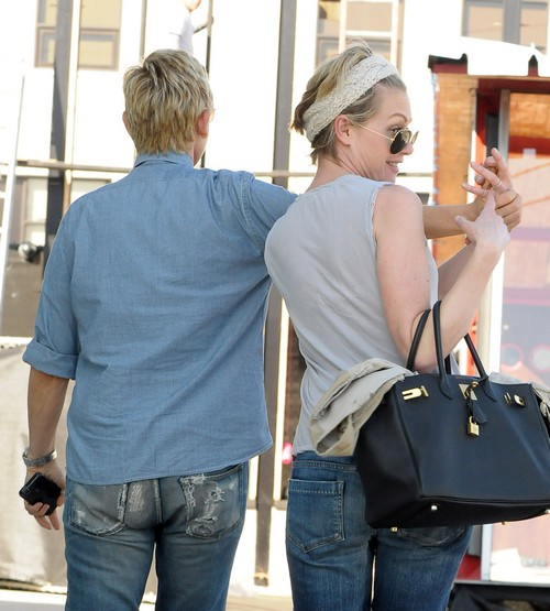 Ellen DeGeneres Uses Cancer Fears To Keep Portia de Rossi Stuck In Marriage (PHOTOS)