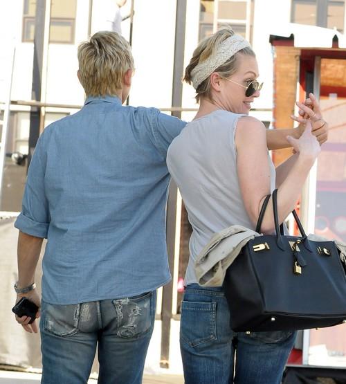 Portia De Rossi Plastic Surgery: Ellen Degeneres & Portia De Rossi Spend Valentine's Day In
