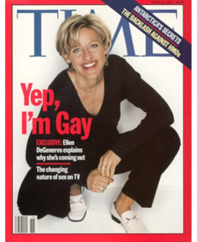Ellen DeGeneres: Time Magazine Cover 16 Years Later 0414