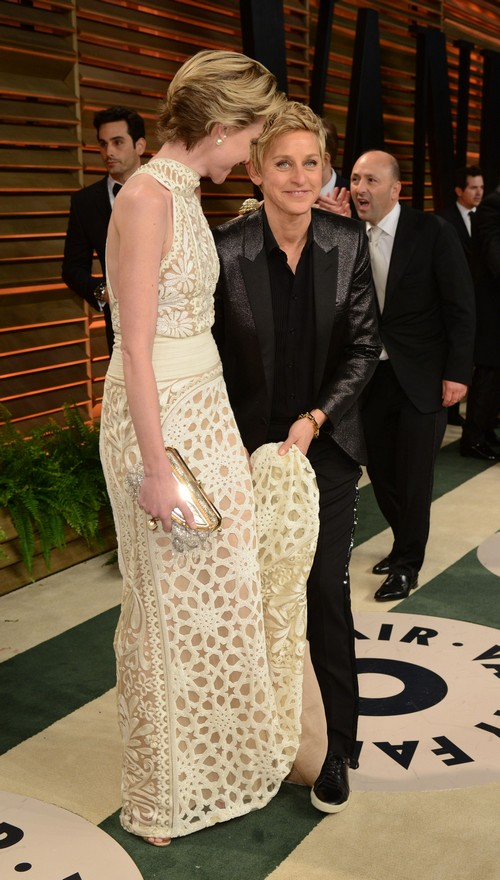 Ellen DeGeneres Paraded Portia de Rossi Around After the Oscars Like A Show Horse - Hides Marriage Trouble