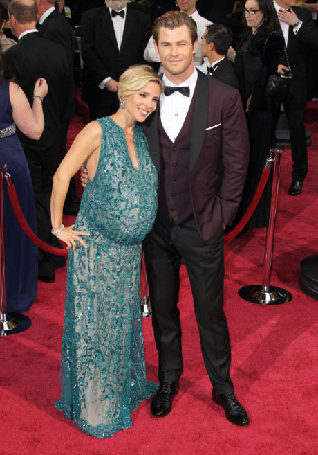 Chris Hemsworth's Wife Elsa Pataky in Labor - Birthing Twins at Cedar Sinai Medical Center!