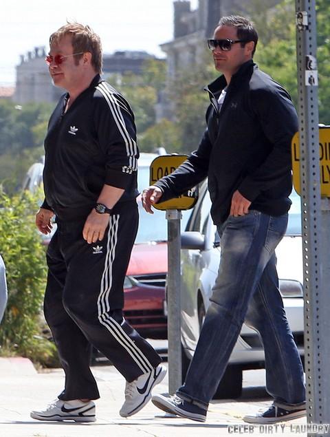 Neil Patrick Harris: Butt Squeeze By Elton John's Husband, David Furnish