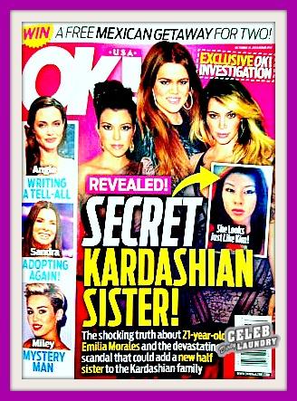 Meet Emilia Morales, Kim, Kourtney and Khloe Kardashian's Half-Sister -- Robert Kardashian's Love Child (PHOTO)