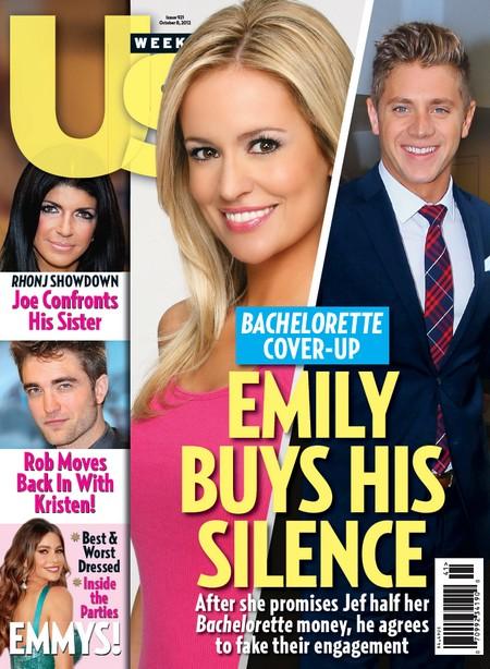 Emily Maynard Bribes Jef Holm To Fake Their Engagement