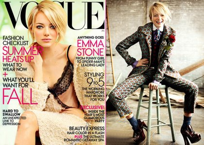 Gorgeous Emma Stone Makes Her Sultry 'Vogue' Debut (Photos)