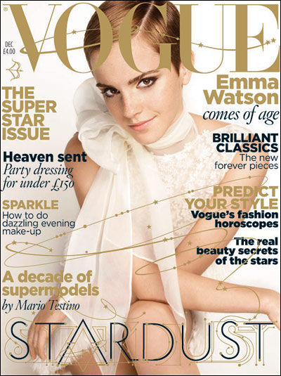 Emma Watson Talks About 'Life After Harry Potter' In  Dec. 2010 Vogue UK